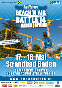 Raiffeisen Beach 'n Air Battle Spring@Strandbad Baden