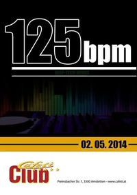 125 bpm@Cafeti Club