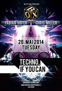 Techno, If You Can@BOX Vienna