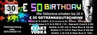 50 Euro Birthdayparty@Fledermaus Graz