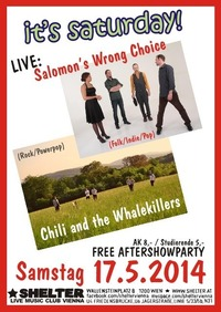 Chili and the Whalekillers + Salomons Wrong Choice@Shelter