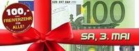 100,- Euro Geschenkt & Kronehit