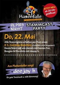 Hasenfalle Oldies Night Stammgast Party@Hasenfalle