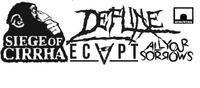 LIVE DefLine & Siege Of Cirrha & Ecapt & All Your Sorrows@Bergwerk