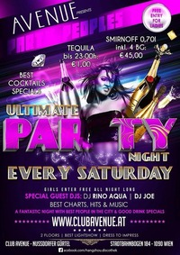 Ultimate Party@Club Avenue