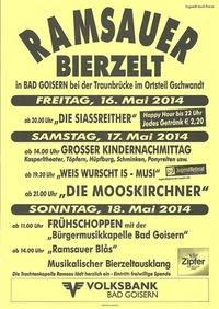 Ramsauer Bierzelt@Ortsteil Gschwandt