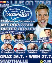 Deutschland sucht den Superstar - Tour 2014