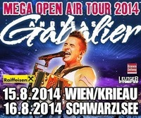 Mega Open Air Tour Andreas Gabalier 2014