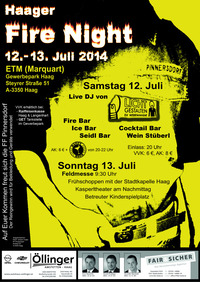 Haager Fire Night 2014