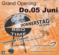 BBQ Time Grand Opening