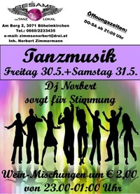 Tanzmusik@Beśame Tanzlokal