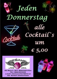 Cocktail-Night@Beśame Tanzlokal