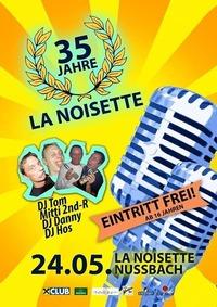 La Noisette - 35 Jahre Party
