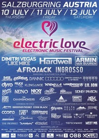 Electric Love Festival 2014@Salzburgring