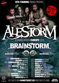 Alestorm + Brainstorm@((szene)) Wien