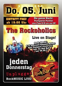 The Rockoholics Live@Excalibur