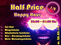 Half Price Happy Hour