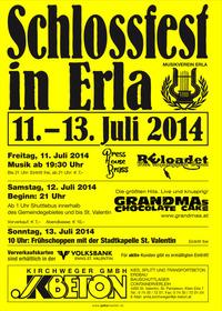 Schlossfest in Erla 2014