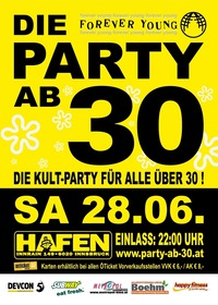 Forever Young - Die Party ab 30