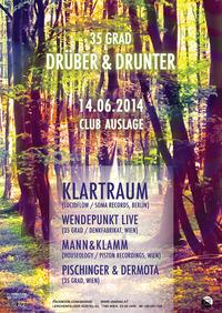 35 Grad Drüber&drunter w/klartraum (Lucidflow, Berlin)@Club Auslage