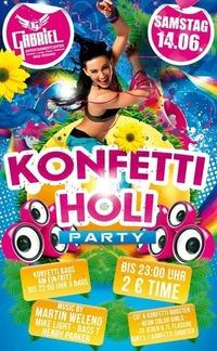 Konfetti - Holi   @Gabriel Entertainment Center