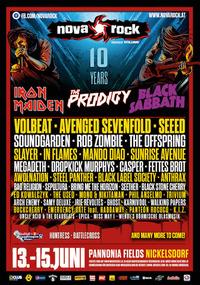 Nova Rock Festival 2014