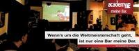 Die Fußball-WM live@academy Cafe-Bar