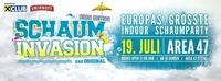 Schaum Invasion | Europas größte indoor Schaumparty
