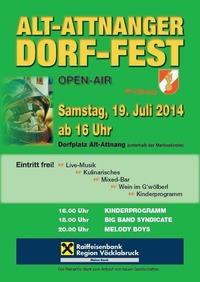 Alt-Attnanger Dorf-Fest@Dorfplatz