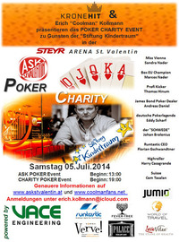 Poker Charity@Steyr Arena
