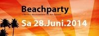 Beachparty + Nassers Abschiedsfeier für den Sommer.