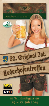 32. Internationales Lederhosentreffen@Ortsplatz