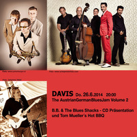 TheAustrianGermanBluesJam Vol.2@DAVIS live music club