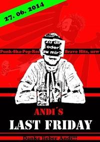 Andis Last Friday