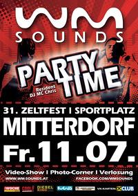 WM-Sounds Partytime - Zeltfest USV Mitterdorfraab@Mitterdorf an der Raab, Steiermark, Austria