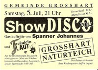 Show Disco 2014@Naturteich Grosshart