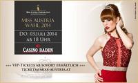 Miss Austria Wahl 2014