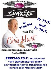 Oldie Abend Mit DJ Chris Heart