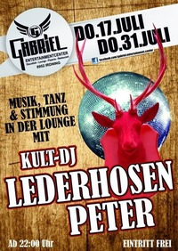 Kult DJ-Lederhosen Peter 2.0  @Gabriel Entertainment Center