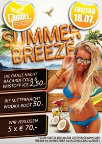 Summer Breeze   @Gabriel Entertainment Center