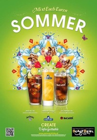 Mixt Euch Euren Sommer - powered by Bacardi