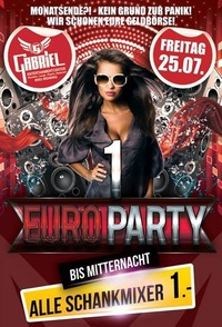 1 Euro Party@Gabriel Entertainment Center