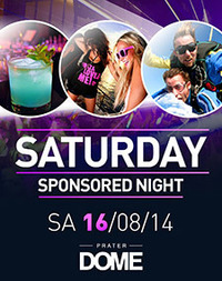 Saturday Sponsored Night@Praterdome
