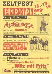 Zeltfest Reichenstein @Reichenstein Tragwein