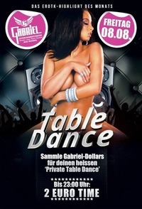 Table - Dance  @Gabriel Entertainment Center