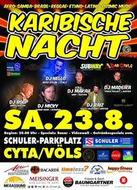 Karibische Nacht 2014@Schuler Parkplatz Gießenweg1