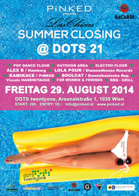 Las Chicas Summer Closing@DOTS twentyone