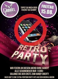 Retro Party   @Gabriel Entertainment Center