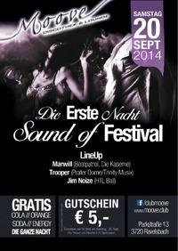 Die Erste Nacht - Sound of Festival@Club Moove