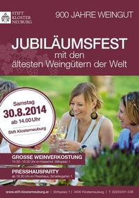 Jubiläumsfest 900 Jahre Stift Klosterneuburg